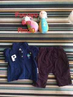 Baju / seluar baby girl