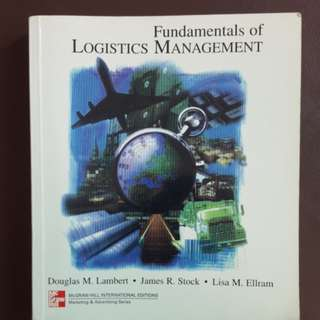 Fundamentals of Logistics Management by Lambert, Stock & Ellram