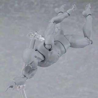 🚚 美術專用素描關節人體模型-灰