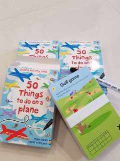 Usborne: 50 things to do on a plane