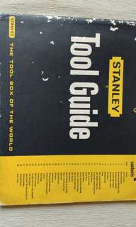 Stanley tool guide