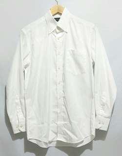Kemeja Formal Original Uniqlo Pria Putih