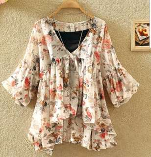 P2mart.com ✌✔Ready stock ~  Floral Blouse