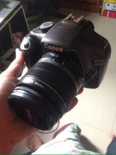 canon 1100d + kit