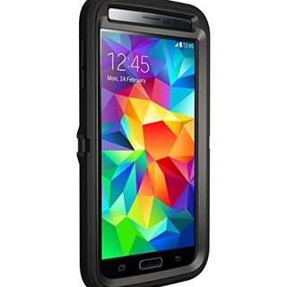 OtterBox Defender Series Samsung Galaxy S5 Case, Frustration-Free Packaging, Black