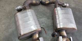audi s5 rear exhaust valve system