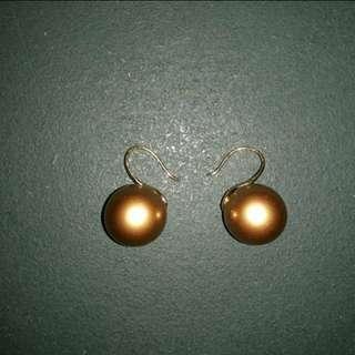 Gold earing/anting warna emas