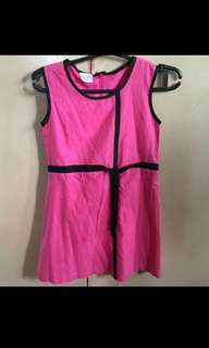 LITTLE MISS Pink Dress (Size 8)