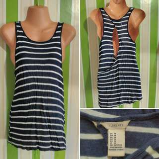 Stripes sexy back top