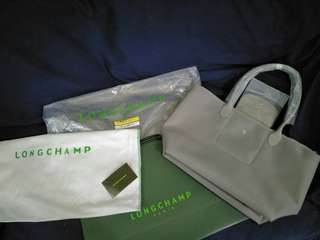 Longchamp Long Handle Bag - Gray (New!!) - Still Available!!