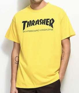 Yellow Thrasher Tee