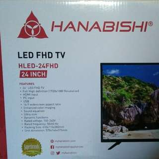 "24"" HLED Full HD TV (Hanabishi)"