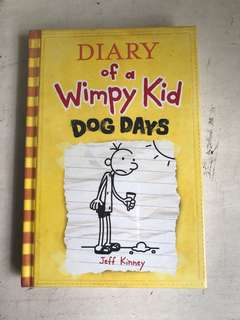 Diary of a Wimpy kid Dog Days, good condition