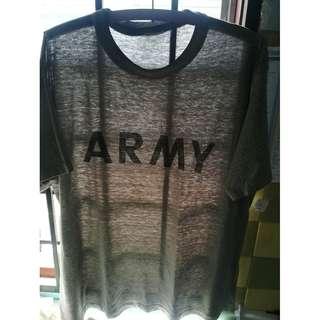 Vtg Kelambu ARMY tag fitness 5050 vintage
