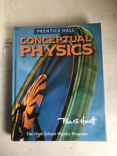 Conceptual Physics- Premtice Hall