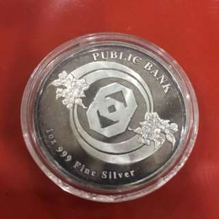 Silver Coin 1oz 999 Fine Silver Collector