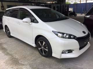 Toyota Wish 1.8 S-Pack (unreg 2013)