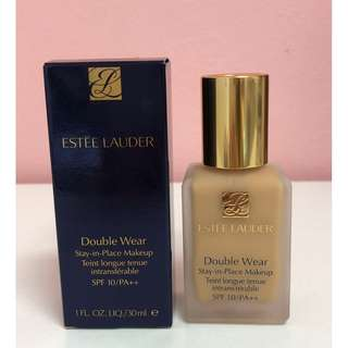 Estee Lauder Double Wear Stay-In-Place Makeup SPF 10/PA++ #1W2 Sand, 30ML