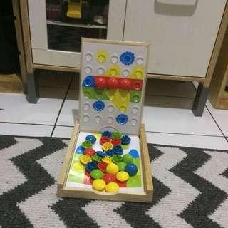 ELC Fun Button - Puzzle ELC
