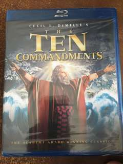 The Ten Commandments, blu ray
