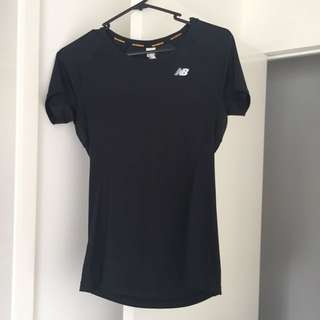 New Balance Black T-shirt Top