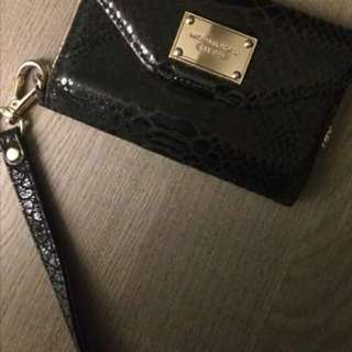 Michael Kors Wristlet and IPhone 5/5s holder