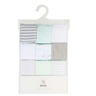 Soft baby washers towels