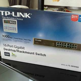 TP-Link Rack Mounted 16 Port Switch