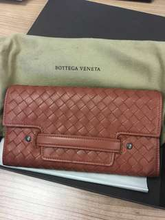 Bottega Veneta New Brown leather wallet