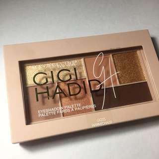 Maybelline x Gigi Hadid Eye shadow pallete, New!