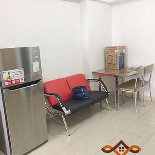 disewakan apartemen green bay 3BR full furnished tower F