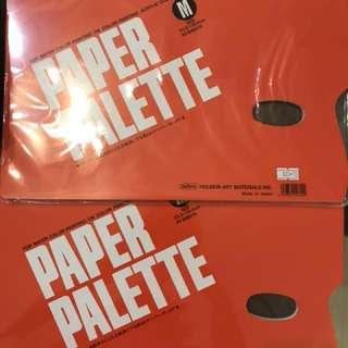 Artist paper palette