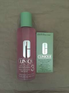BRAND NEW: Clinique moisturiser and lotion