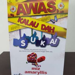 BN Malay Novel ( Awas Kalau Da Suka )