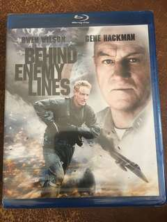 Behind Enemy Lines, blu ray