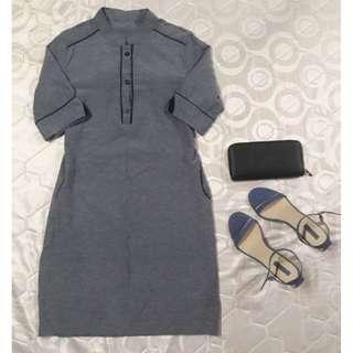 SALE! Denim Colored Dress