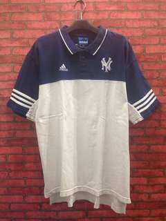 Polo Shirt Adidas Yankees