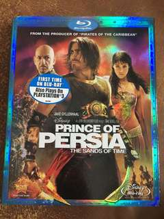 Prince of Persia, The Sands of Time, blu ray