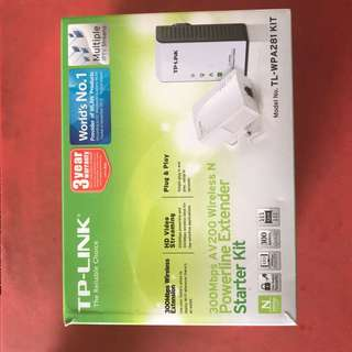 TP-Link Wireless & Powerline Extender. Self-Collection only at Pasir Ris ST 52