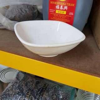 High quality porcelain square bowls