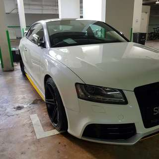 9H/10H PPS CAMUI Crystal Glass Coating (Audi A5 Feb)