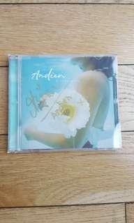 Signed Andien metamorfosa CD