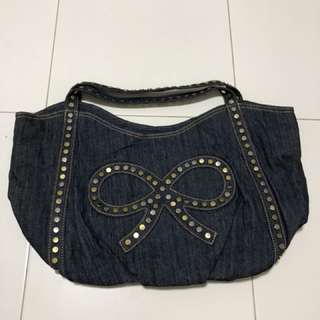 Cache Denim Bag