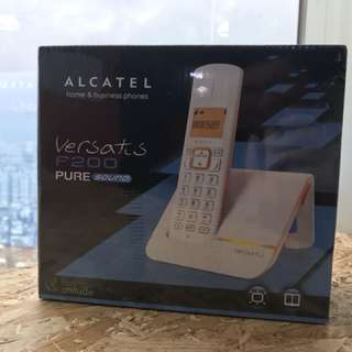 [全新未拆封] ALCATEL Versatis F200無線電話機