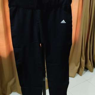 Preloved Adidas pants for gym or running