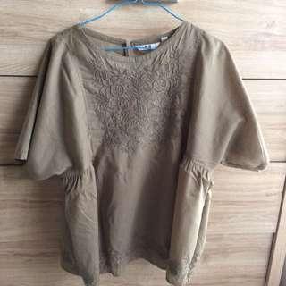 Uniqlo Embroidered Shirt