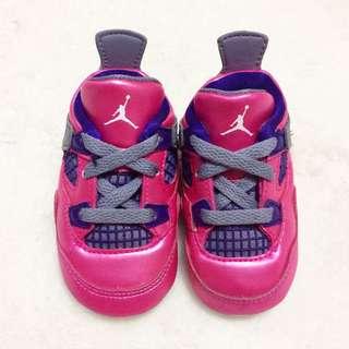 Jordan 4 Pink foil size 3c