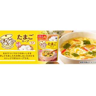 日本天野超澎湃蛋花湯(五食入)
