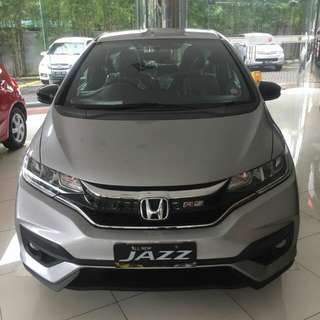 HONDA JAZZ RS CVT 2018 BRIO MOBILIO CR-V HR-V BR-V HRV CRV BRV CIVIC JAZZ ACCORD ODYSSEY CITY S E RS MT AT CVT HATCHBACK TURBO PRESTIGE 2018