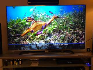 "LG LED 4K UHD 65"" HDR Dolby Vision (Used 2 years)"